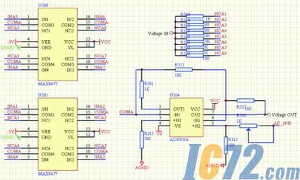 ram与fpga连接电路